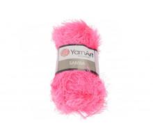 YarnArt Samba 008 розовый неон