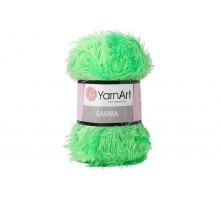 YarnArt Samba 009 зеленый неон
