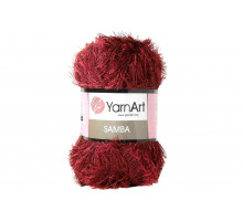 YarnArt Samba 2028 бордовый