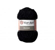 YarnArt Velour 842 черный