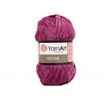 YarnArt Velour 855 фуксия