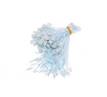 Биркодержатель полиэстер голубой