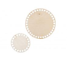 Донышки два круга 10 см и 15 см – сплошная заготовка 3 мм