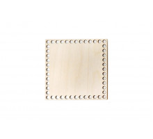 Донышко квадрат 15x15 см – сплошная заготовка 3 мм