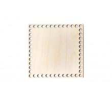 Донышко квадрат 20x20 см – сплошная заготовка 3 мм