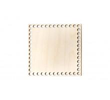 Донышко квадрат 20x20 см – сплошная заготовка 4 мм