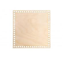 Донышко квадрат 25x25 см – сплошная заготовка 3 мм