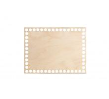 Донышко прямоугольник 20x15 см – сплошная заготовка 3 мм