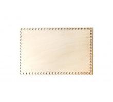 Донышко прямоугольник 30x20 см – сплошная заготовка 4 мм