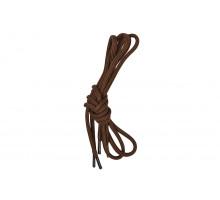 Шнурки для обуви 70 см коричневые круглые 3 мм