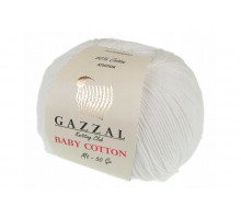 Gazzal Baby Cotton 3410 молочный