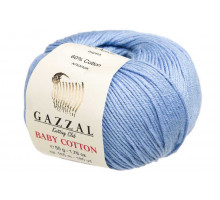 Gazzal Baby Cotton 3423 голубой