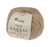 Gazzal Baby Cotton 3424 бежевый