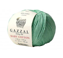 Gazzal Baby Cotton 3425 мятный
