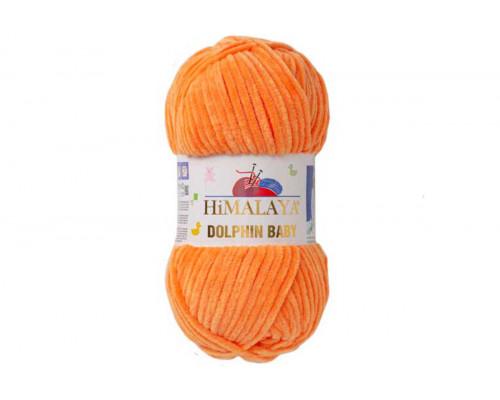 Пряжа Гималаи/Хималая Долфин Беби – цвет 80316 апельсин