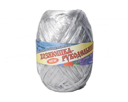 Пряжа Хозяюшка-рукодельница Для души и душа – цвет серебро