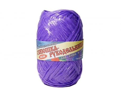 Пряжа Хозяюшка-рукодельница Для души и душа – цвет фиолетовый