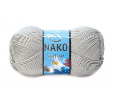 Nako Saten 00130 светло-серый