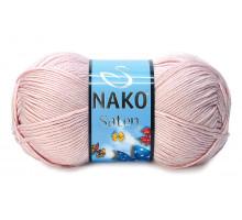 Nako Saten 01479 светлая пудра