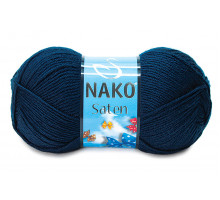 Nako Saten 04253 тёмно-синий