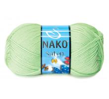 Nako Saten 10154 салатовый