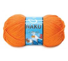 Nako Saten 10157 оранжевый