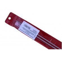 Прямые спицы 2 мм полимерное покрытие