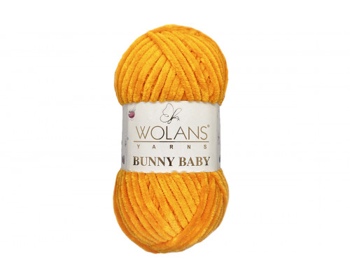 Пряжа Воланс Банни Беби – цвет  100-25 оранжевый
